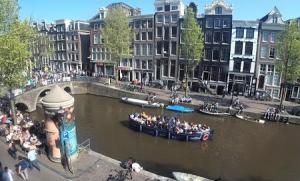 Веб камера Нидерланды, Амстердам, Квартал Красных Фонарей