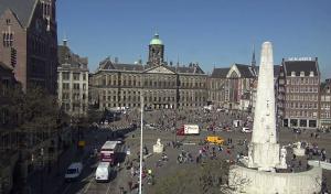 Веб камера Нидерланды, Амстердам, Площадь Дам