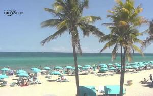 Пляж Голливуд Бич в штате Флорида