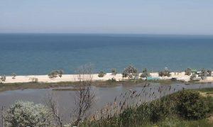 Голубицкое озеро в Краснодарском крае