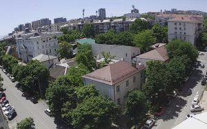 Улица Революции 1905 года в Новороссийске