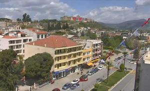 Панорама города Сельчук в Турции