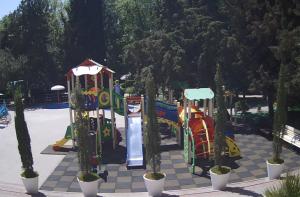 Детская площадка отеля «Демерджи» в Алуште