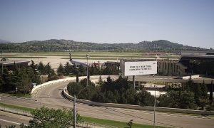 Международный аэропорт Сочи из отеля «Куб»