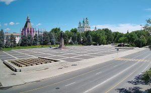 Площадь Ленина в Астрахани
