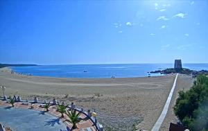 Пляж Торре ди Бари Садро на острове Сардиния