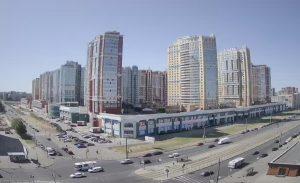 ЖК «Лондон Парк» и проспект Просвещения в Санкт-Петербурге