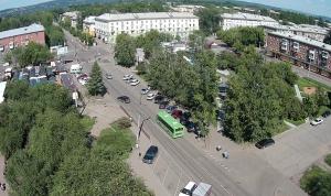 Улица Муравьева в Иркутске