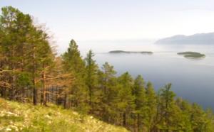Ушканьи острова в озере Байкал