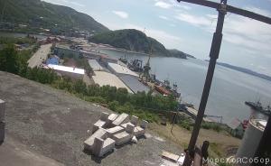 Вид из Морского Собора в Петропавловске-Камчатском