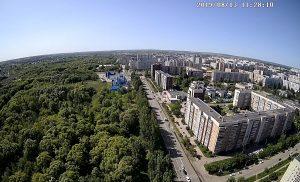 Панорама Засвияжского района Ульяновска