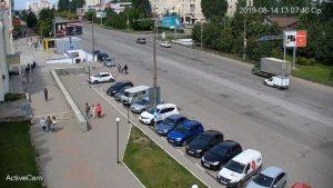 "Веб камера Ульяновска, ТЦ ""Самолет"""