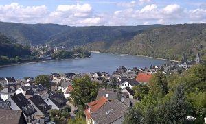 Панорама коммуны Камп-Борнхофена в Германии