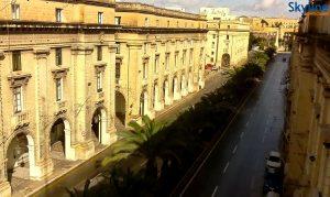 Улица Святой Анны в городе Флориана