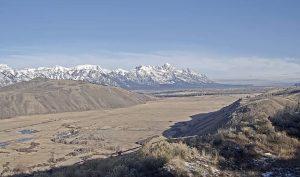 Национальный парк Гранд-Титон из Ранчо Спринг-Крик