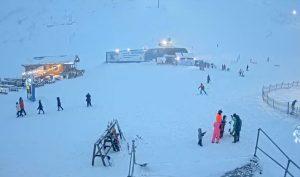 Гондольно-кресельный подъемник К6 на горнолыжном курорте Большой Вудъявр