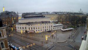 Площадь Эроттая из отеля Klaus K в Хельсинки