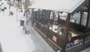 Вольер Хаски Парка в горно-туристическом центре «Газпром»