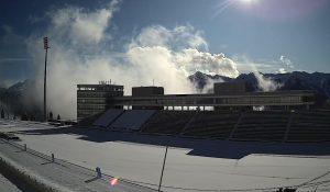 Лыжно-биатлонный комплекс Лаура на ГТЦ Газпром
