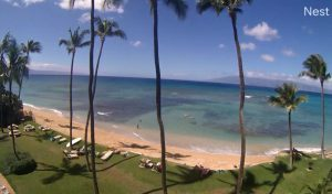 Вид из кондоминиума Maui Seashell на острове Мауи