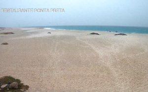 Пляж Понта Прета в Кабо-Верде