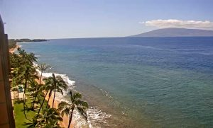 Вид из апартаментов Maui Kai Condos на острове Мауи