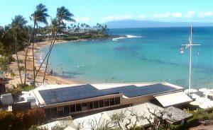 Вид из отеля Napili Kai Beach на острове Мауи