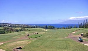 Поле для гольфа Kapalua Golf's Plantation Course на Мауи