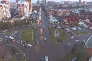 Веб камера Краснодара, перекресток ул. Тургенева/ ул. Гагарина