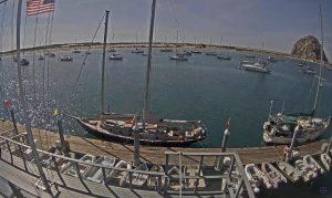 Яхт-клуб в Морро Бэй в Калифорнии