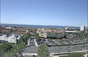 Панорама Ньюпорт-Бич в Калифорнии