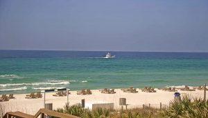 Пляж Панама-Сити-Бич с отеля Emerald Beach Resort