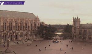 Красная площадь Вашингтонского университета