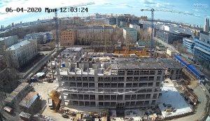 Строительство ЖК Балтийский в Москве