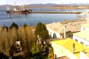Морской порт Ушуая в Аргентине