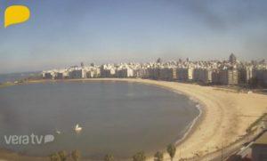 Пляж Плайя де лос Поситос в Уругвае