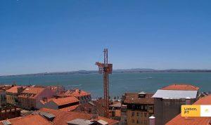 Панорама Старого города Лиссабон