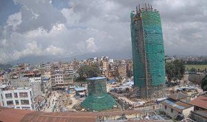Панорама Катманду в Непале