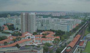 ЖД вокзал Bukit Gombak в Сингапуре