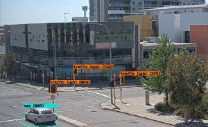 Улица Хейвлок-стрит в городе Перт в Австралии