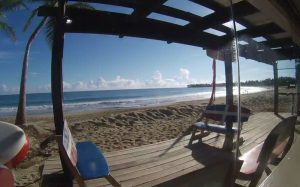Пляж Кабарете из школы кайтсёрфинга LEK в Доминиканской Республике