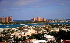 Панорама Нассау на Багамах