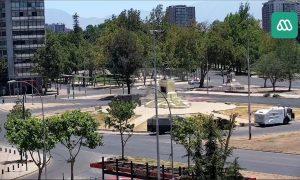 Площадь Бакедано в Сантьяго