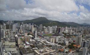 Центр города Итажаи в Бразилии
