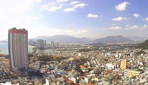 Панорама города Нячанг во Вьетнаме