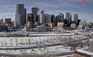 Панорама Калгари в Канаде