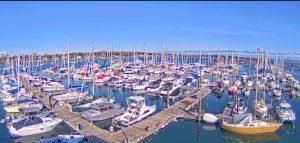 Яхт-порт Oak Bay Marina на острове Ванкувер