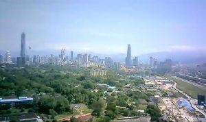 Даунтаун Куала-Лумпура в Малайзии