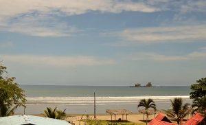 Пляж Айямпе в Эквадоре из гостевого дома Ayampe