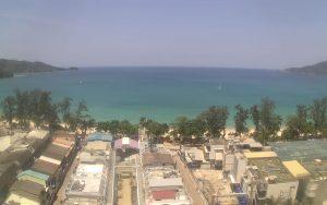 Пляж Патонг из апартаментов Patong Tower